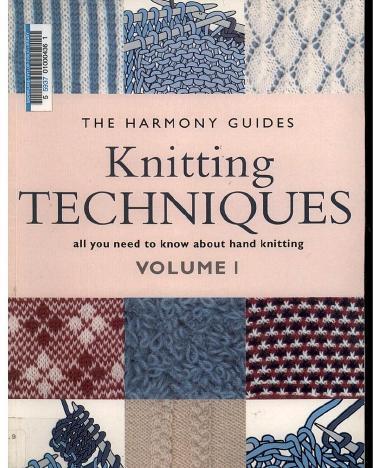 Harmony Knitting Techniques Volume 1_1 (373x468, 45Kb)