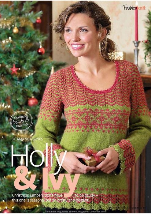 Holly & Ivy Pullover_1 (494x700, 80Kb)