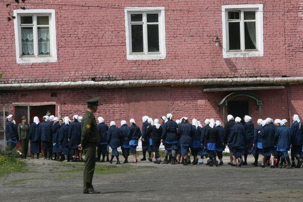 Тюрьма во Владимире для особо опасных преступников.