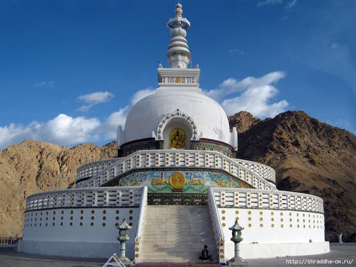 Indiya, Leh, Shanti Stupa 4 (700x525, 254Kb)