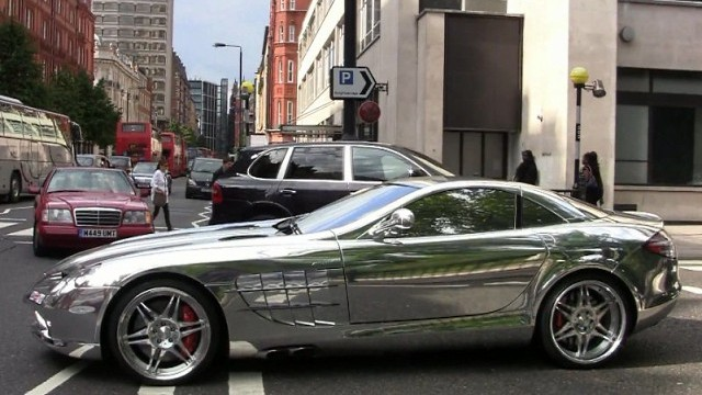 Pictures gallery of chrome car
