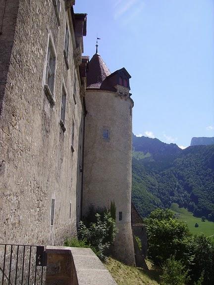 Замок графов де Грюйер (Chateau de Gruyeres) 32015