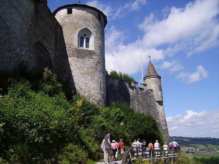 Замок графов де Грюйер (Chateau de Gruyeres) 90970