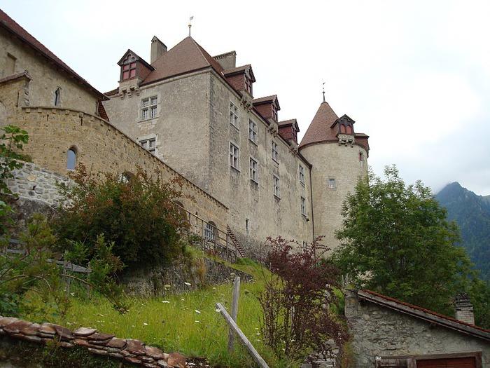 Замок графов де Грюйер (Chateau de Gruyeres) 58869