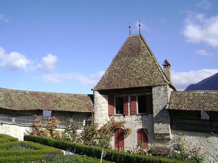 Замок графов де Грюйер (Chateau de Gruyeres) 19421