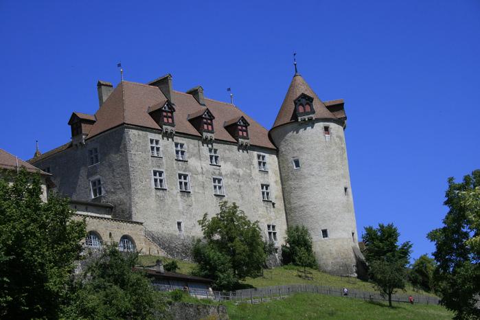 Замок графов де Грюйер (Chateau de Gruyeres) 38412