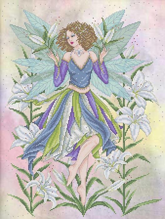 The Lily Fairy Joan A. Elliott.