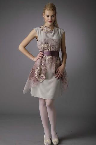осеннии платья шанель