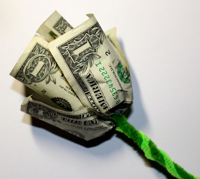 Деньги как сделать из ткани