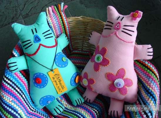 Мягкие игрушки своими руками из ткани простые