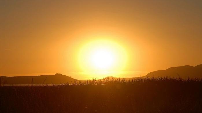 Фотографии солнца - как снимать рассвет или закат 10