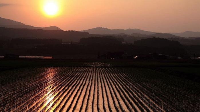Фотографии солнца - как снимать рассвет или закат 12