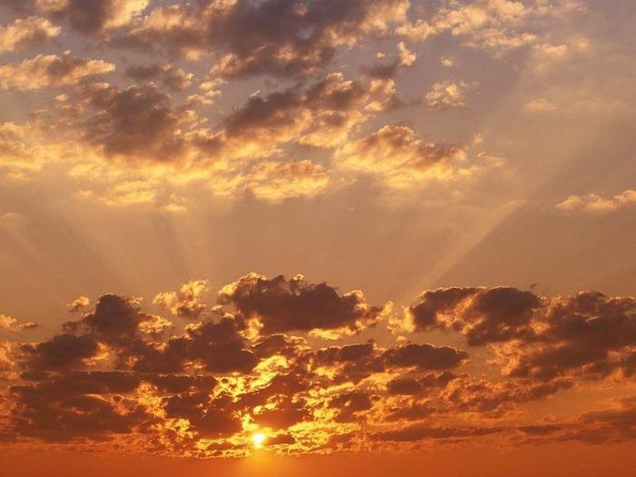 Фотографии солнца - как снимать рассвет или закат 20