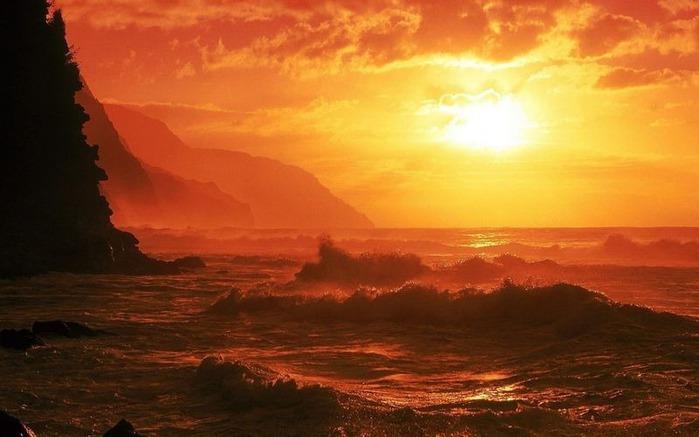 Фотографии солнца - как снимать рассвет или закат 23