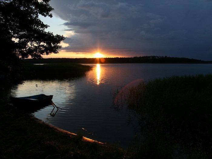 Фотографии солнца - как снимать рассвет или закат 28