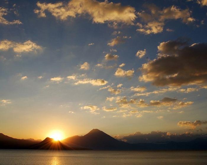 Фотографии солнца - как снимать рассвет или закат 35