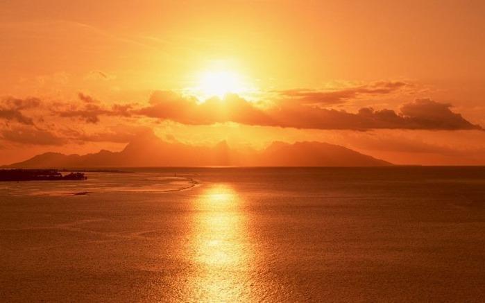 Фотографии солнца - как снимать рассвет или закат 43