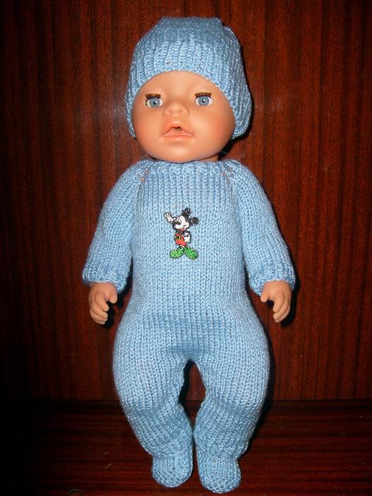 вязание для кукол беби борн схемы
