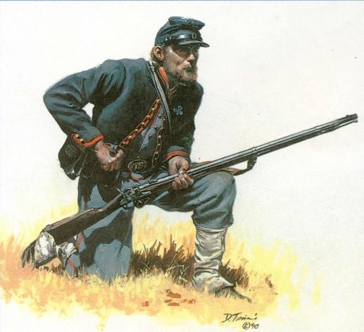 Роль стрелкового оружия в гражданской