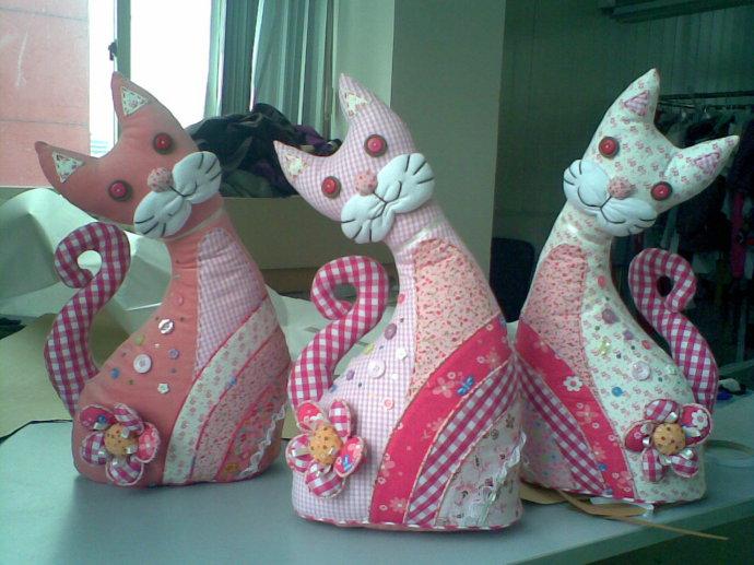 Кошек из ткани своими руками