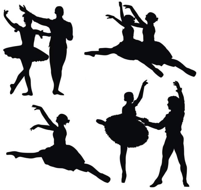 Balerine_silhouettes (700x665, 26Kb)