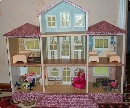 Мебель для кукольного домика своими руками мастер класс