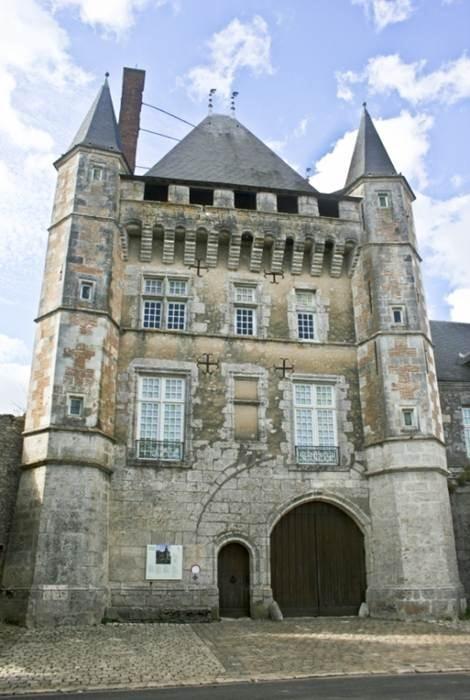 Французский замок Тальси (Chateau de Talcy)