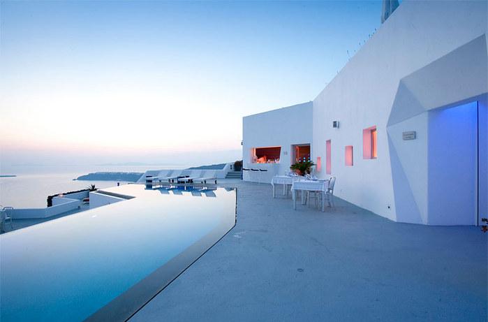 Самые красивые отели - отель Grace Santorini