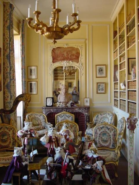 Замок Бретей / Chateau de Breteuil - в гостях у Шарля Пеpро 94065