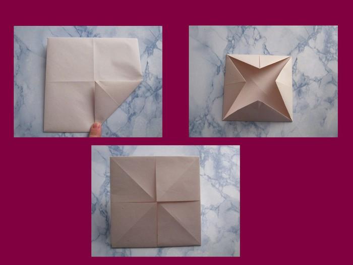 оригами с детьми, мастер-класс