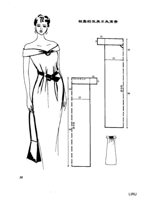 Выкройки платьев и юбок 4