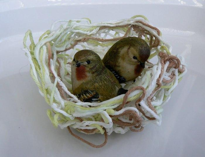 Гнездо для птиц своими руками фото
