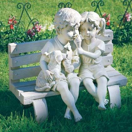 Каждая скульптура - талантливое сочетание мечты.