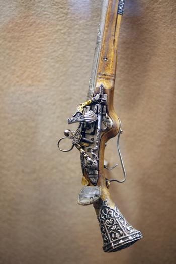 Выставка огнестрельного оружия