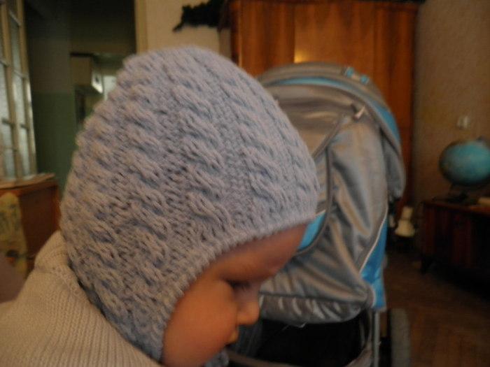 Вязание Спицами Шапочки Для Младенца