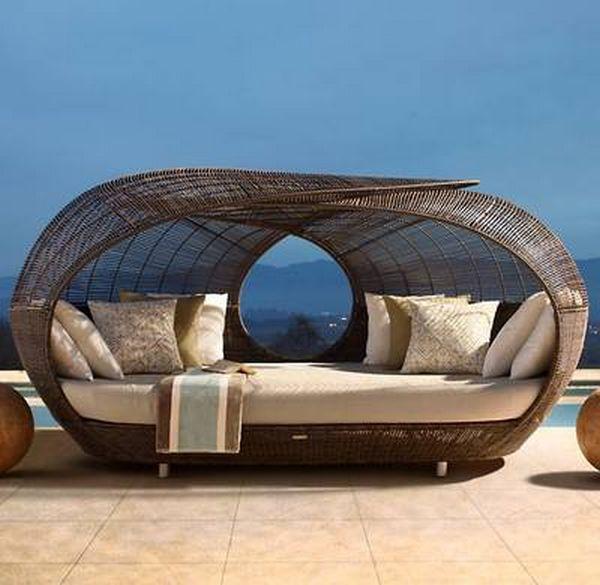 30 красивейших кроватей с балдахинами для вашей террасы 2 (600x585, 44Kb)