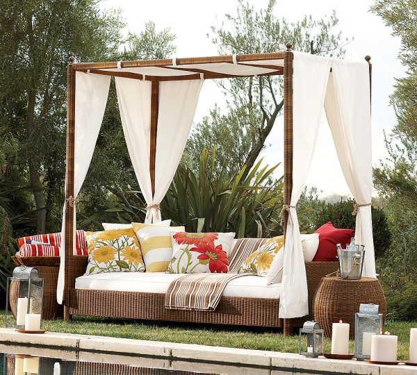 30 красивейших кроватей с балдахинами для вашей террасы 29 (600x540, 108Kb)