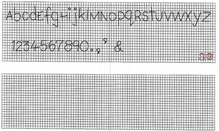 Вышивка крестом цифры схемы для метрики