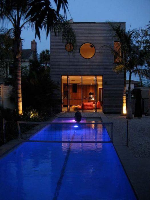 Современный дизайн бассейна