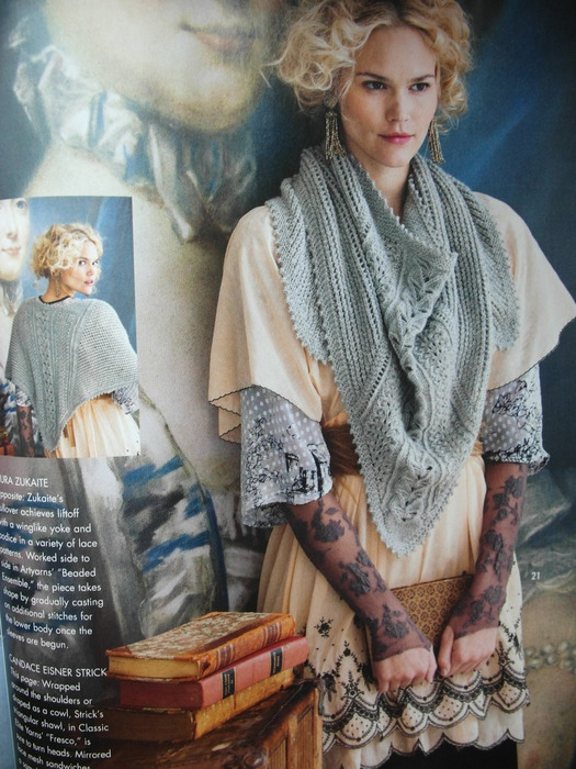 beautiful shawl of the new vogue