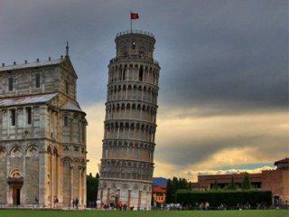 Падающая Пизанская башня (320x240, 16Kb)
