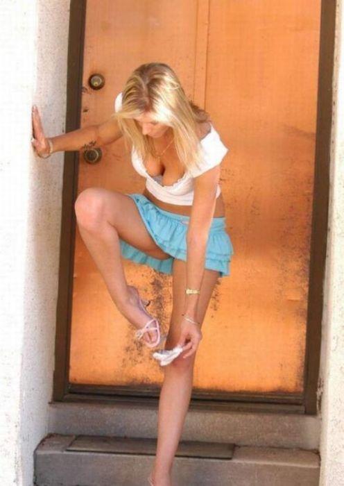 Соблазнительные вырезы женской одежды