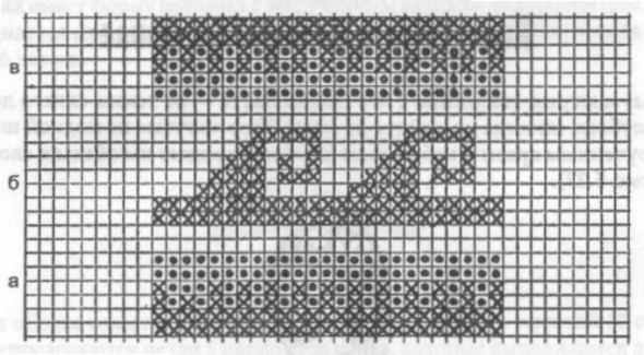 схема узора для жаккардового вязания 7 (590x325, 93Kb)