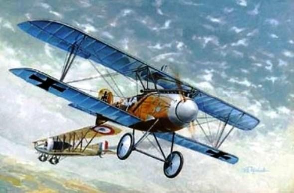 01 Бертольда Альбатрос Д-3 в бою (590x388, 54Kb)