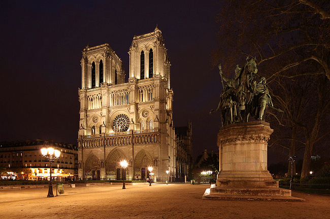 Paris Notre Dame  Flickr - Photo Sharing! (650x432, 625Kb)