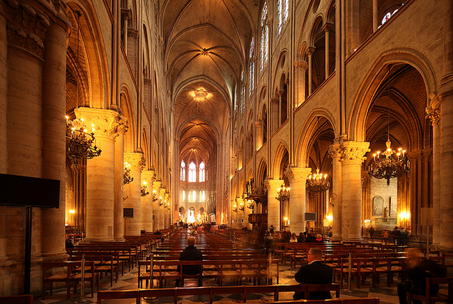 Paris Notre Dame  Flickr - Photo Sharing! (650x436, 751Kb)