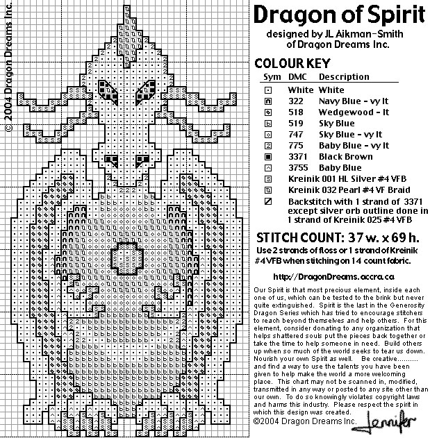 Dragon Of Spirit (619x631, 240Kb)