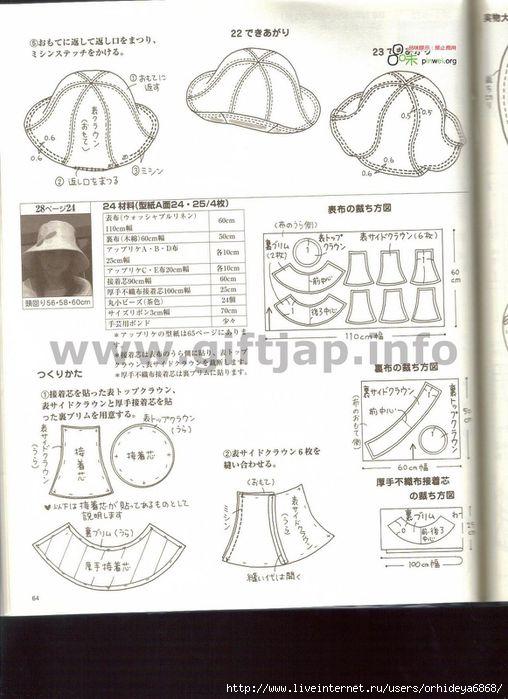 Это фото находится также в разделах: выкройка берета для девочек.