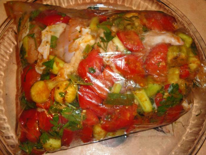 стреляйте курица в духовке в пакете с овощами рецепт новые рингтоны