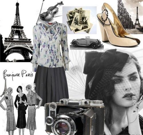 Французский стиль одежды, он же french style, символизирует собой такой.